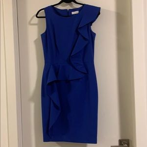 2 for $50 Calvin Klein blue cocktail work dress